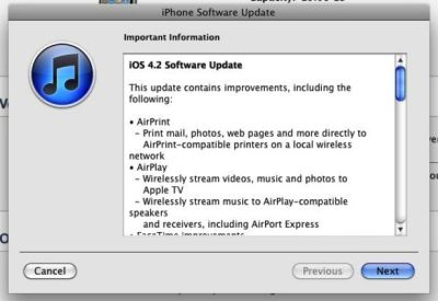 iOS 4 2 available to download | AIVAnet